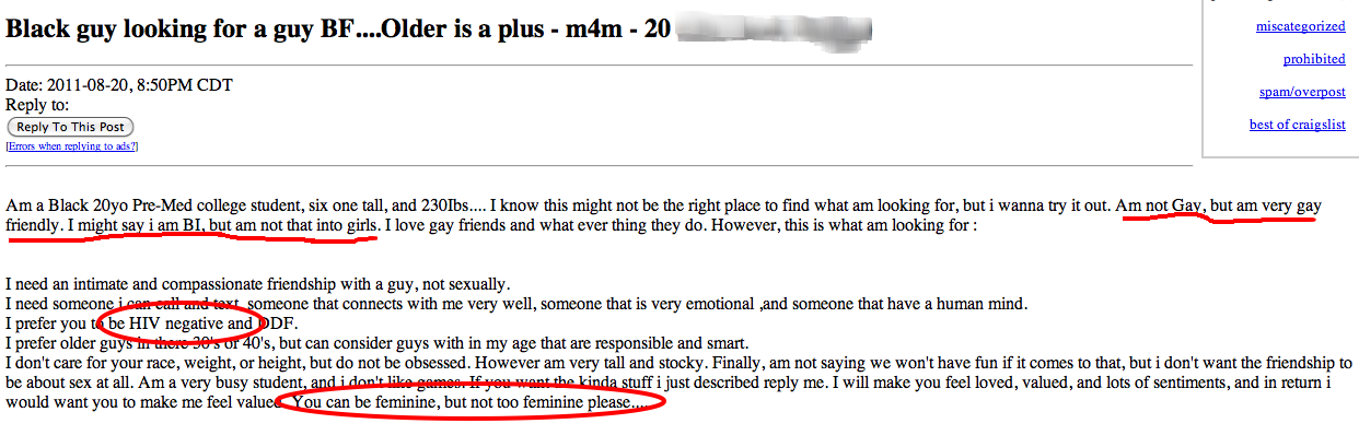 Strictly platonic craigslist meaning
